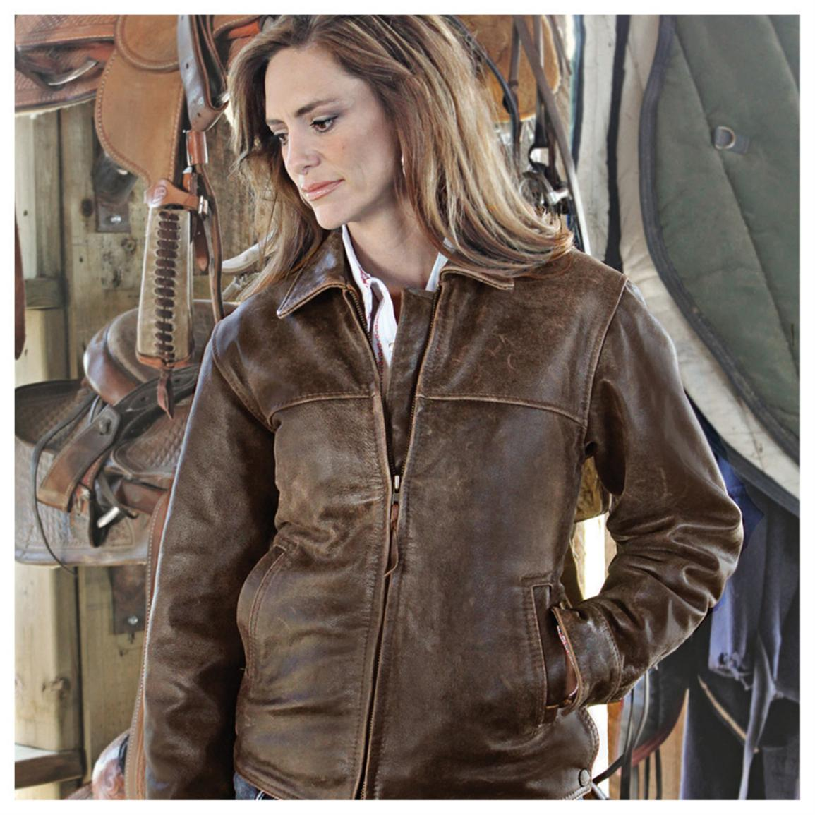 Women's Rifleman Jacket from STS Ranchwear®, Brown