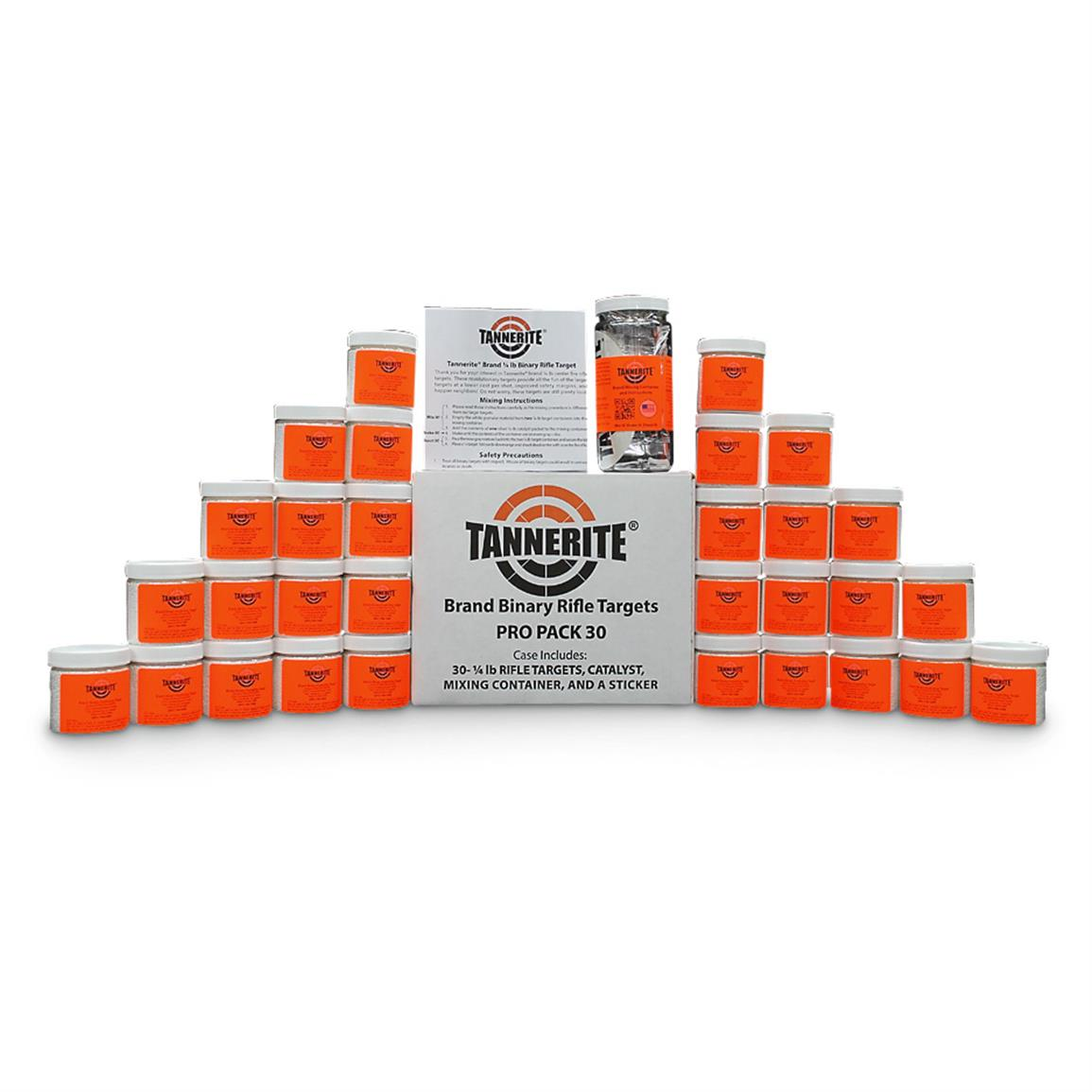 Tannerite 1/4-lb. Bricks Pro Pack Rifle Targets, 30 Pack