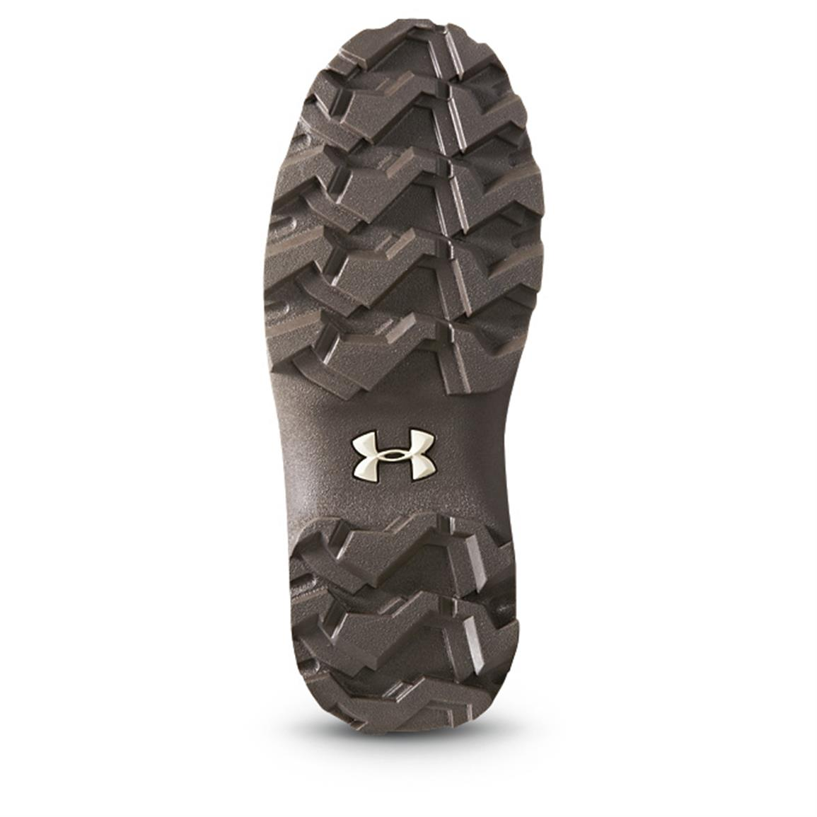 Rugged rubber outsole