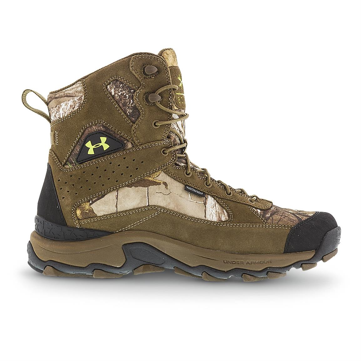 Men's Under Armour Speed Freeks Bozeman Boots, Realtree AP Xtra