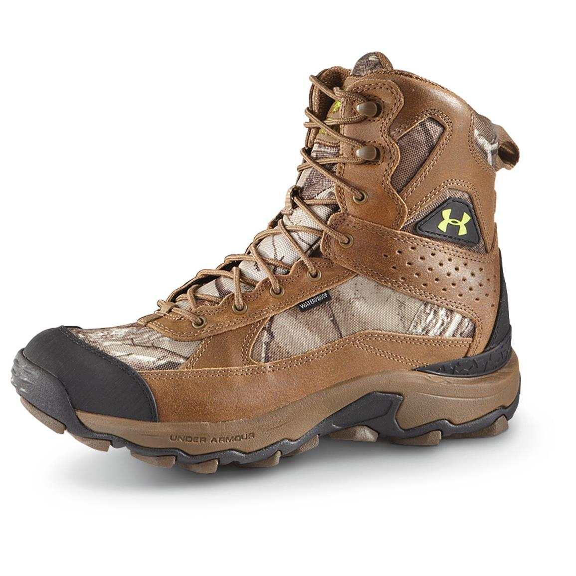 Under Armour® Men's Speed Freeks Bozeman Boots, Realtree AP Xtra