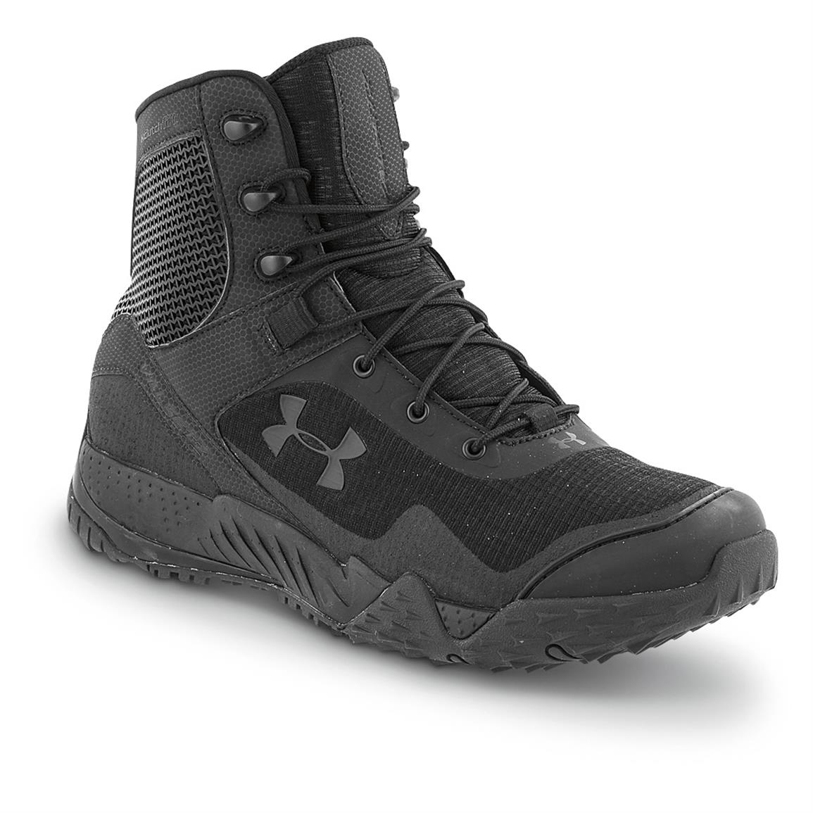 Under Armour Men's Valsetz Tactical RTS Tactical Boots, Black