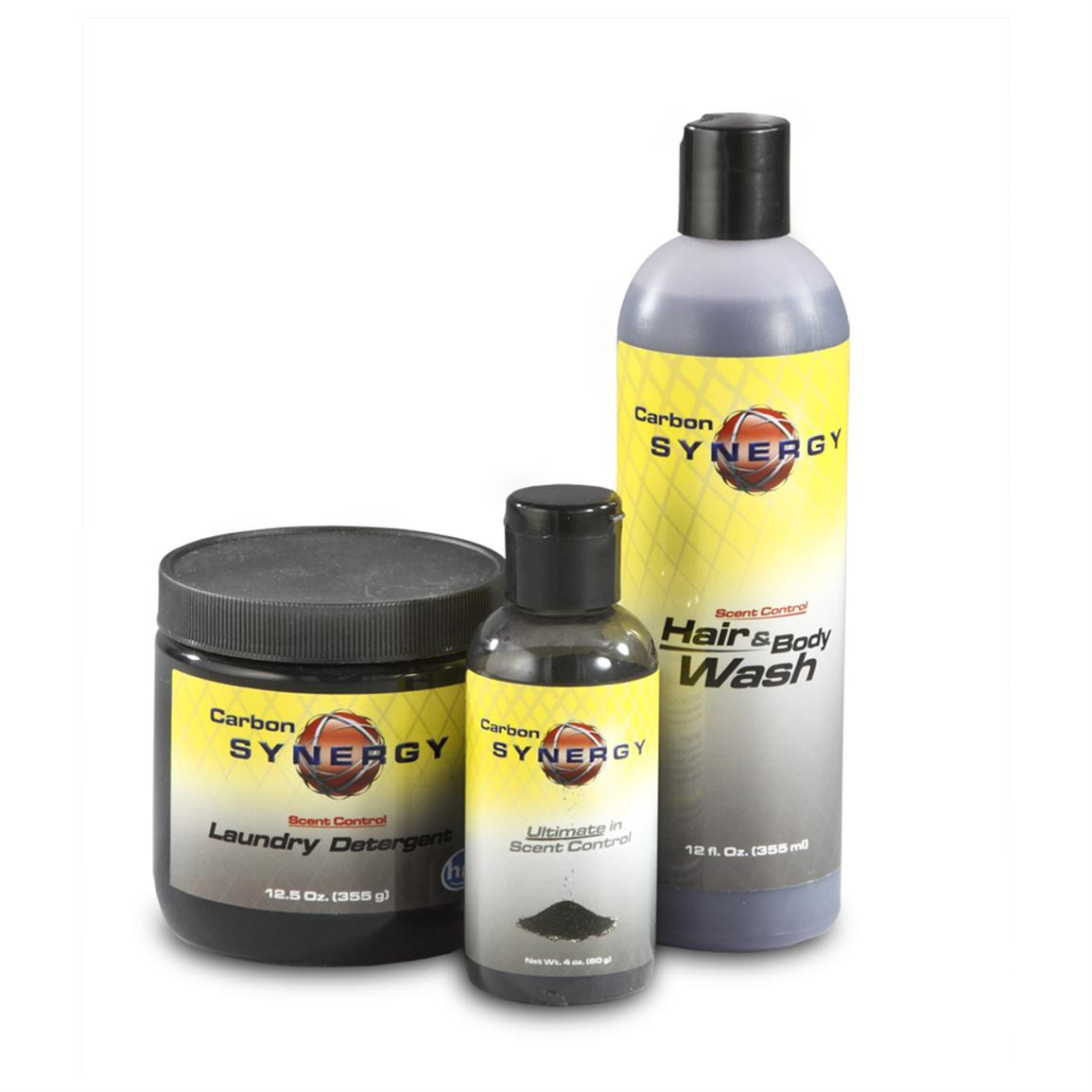 Carbon Synergy® Scent Control Combo Pack