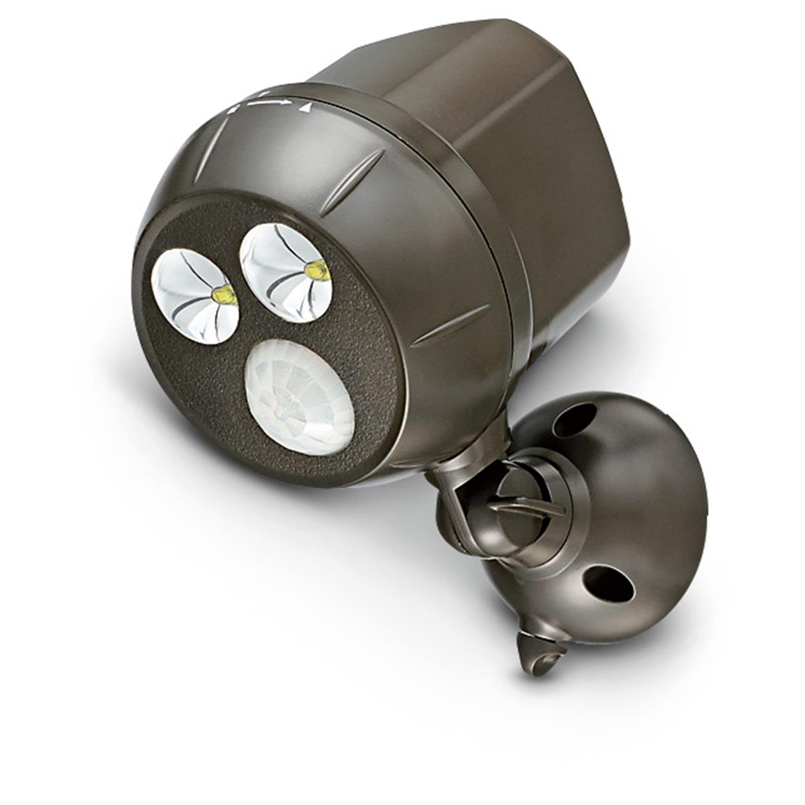 Wireless Motion Sensor Ultra Bright LED Spotlight, Dark Brown