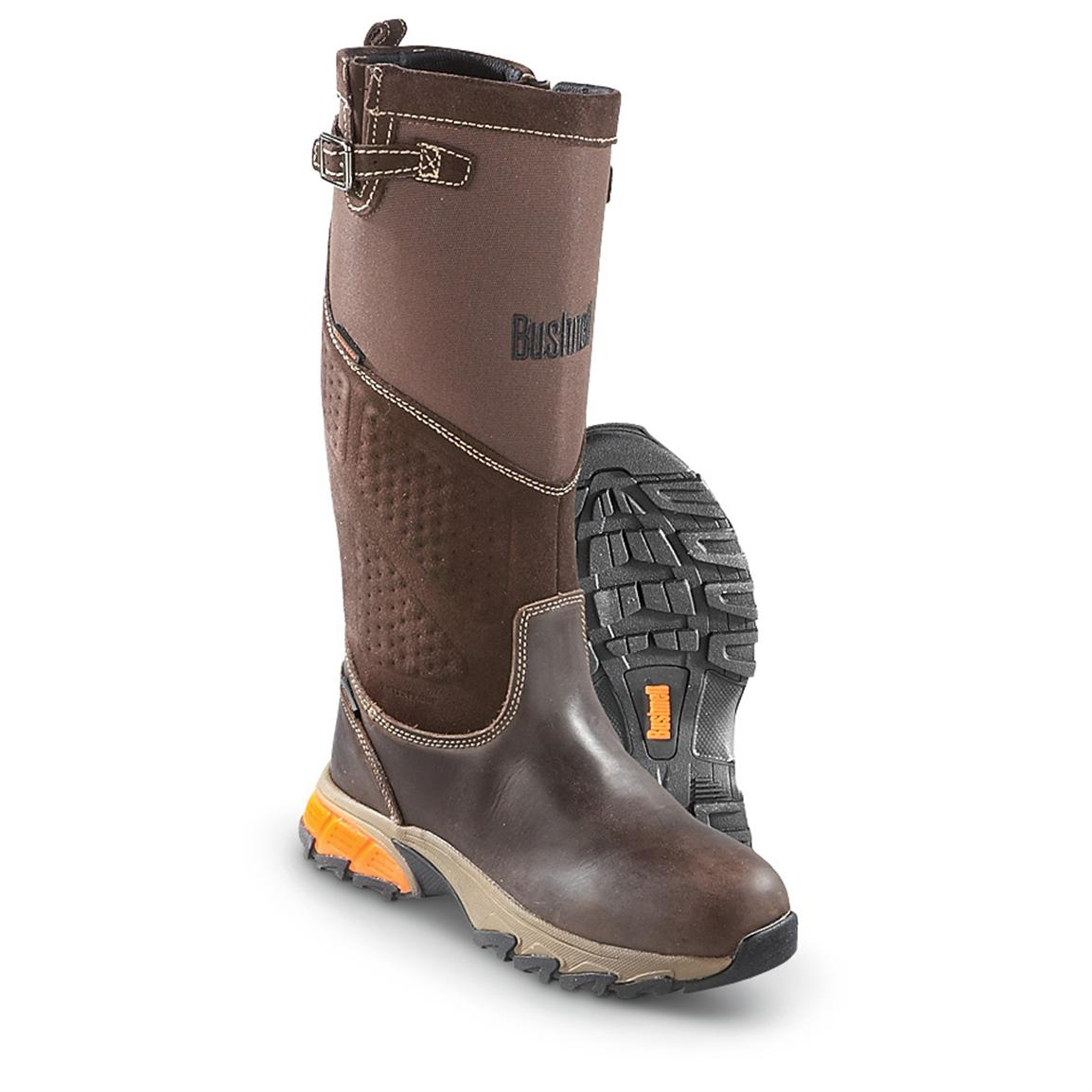 Men's Bushnell® Snakepro Waterproof Boots, Brown