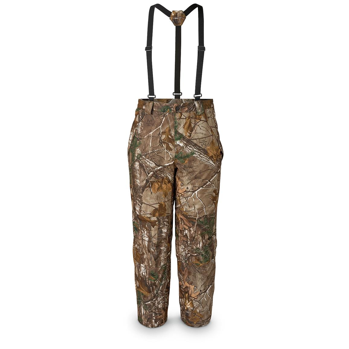 Scent-Lok Men's Waterproof ThunderTek Pants, Realtree Xtra