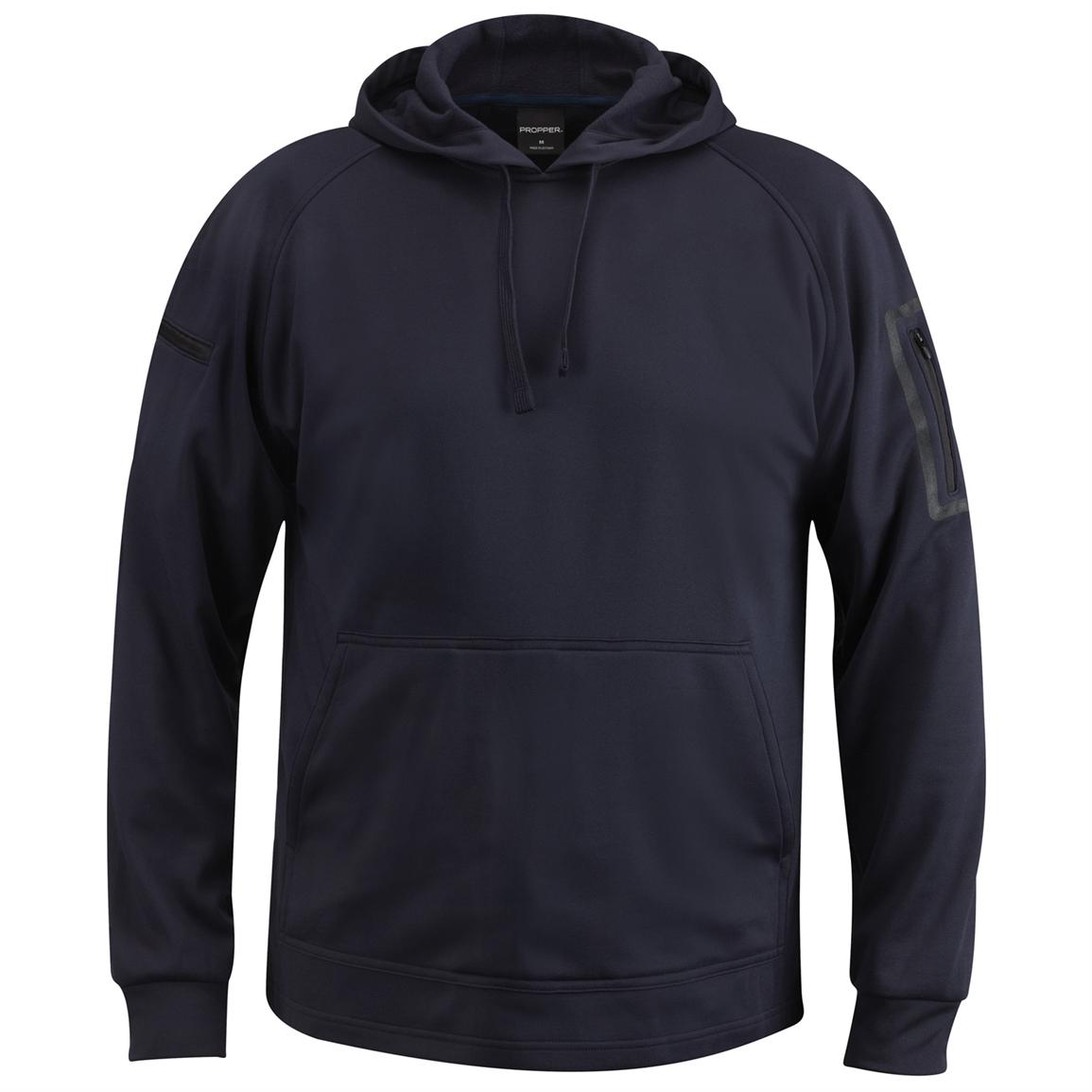 Propper™ Cover™ Hooded Sweatshirt, LAPD Navy