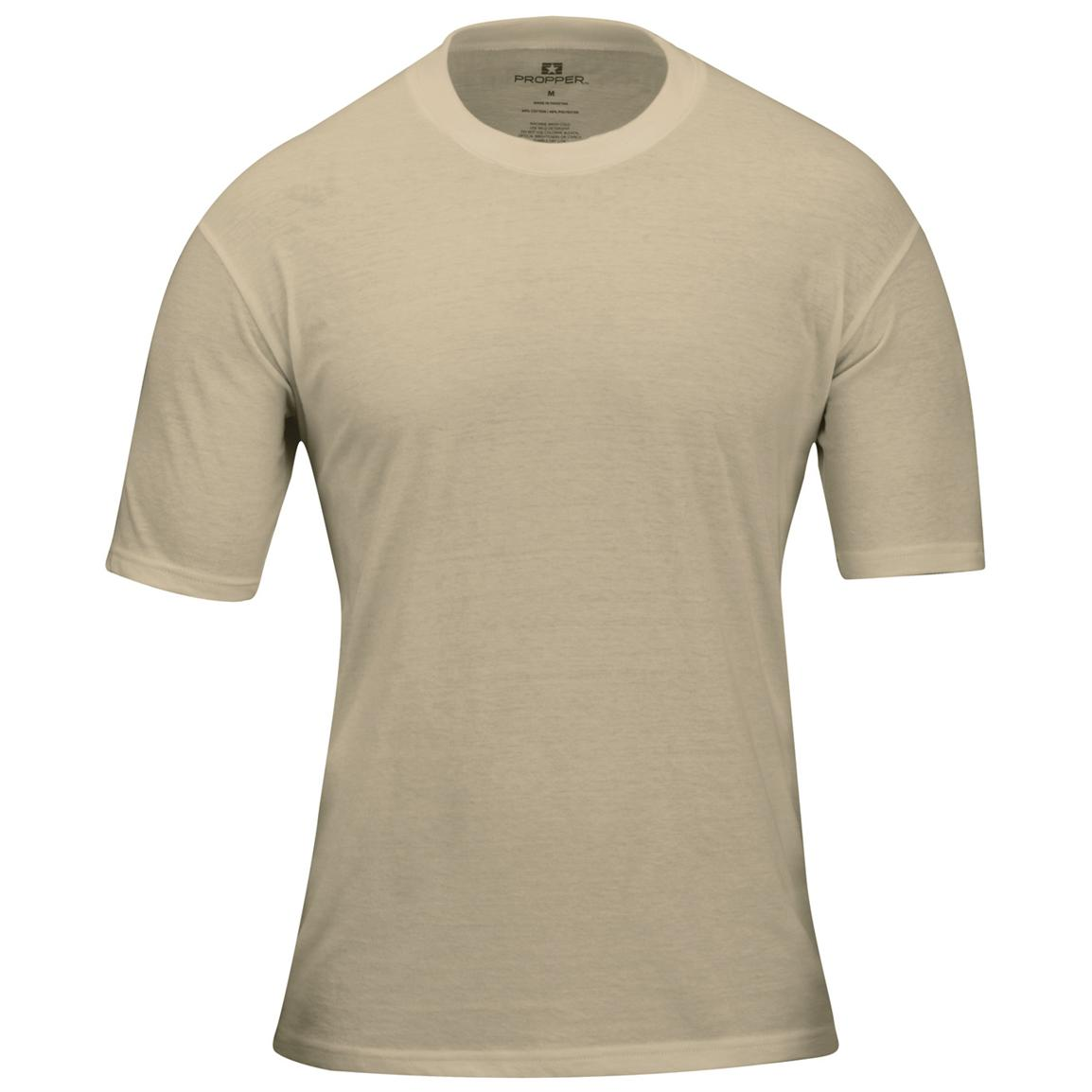3-Pk. Men's Propper™ Pack 3™ T-shirts, Desert Sand