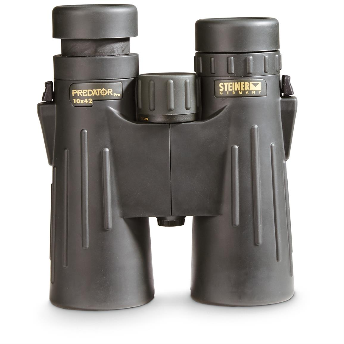 Rubber armored, with fold-down eyecups