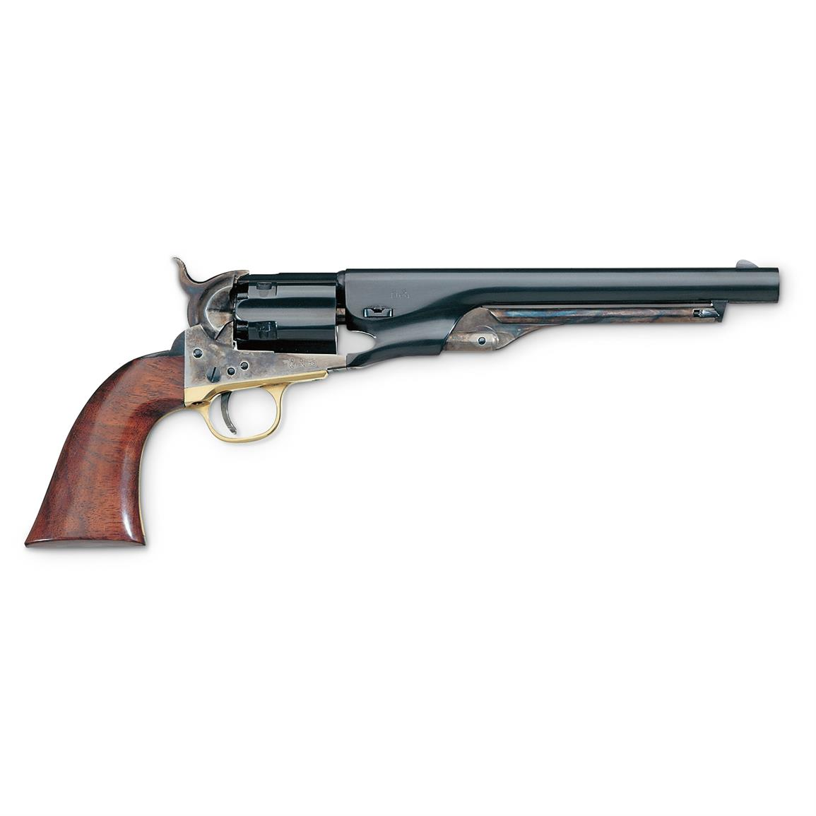Uberti Reproduction Colt 1860 Army Steel Frame Fluted Cylinder .44 Black Powder Revolver