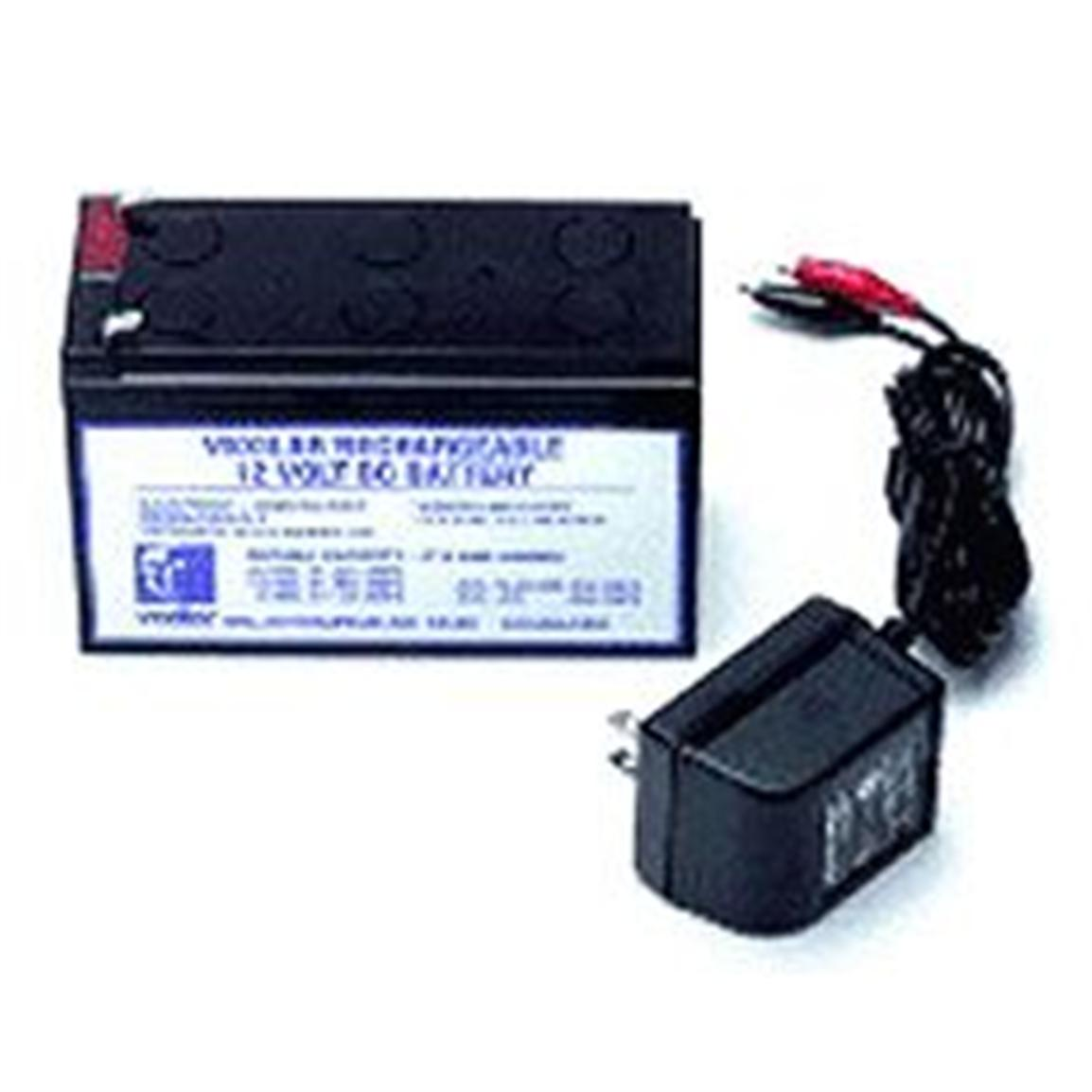 Vexilar v 120 jel pack battery with recharger 59510 ice for Ice fishing electronics