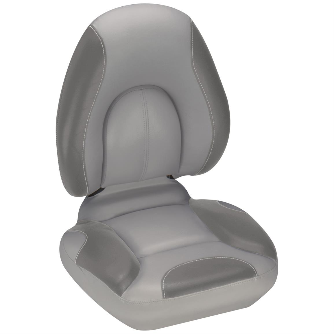 Attwood® Centric SAS™ Boat Seat, Gray Base Color / Smoke