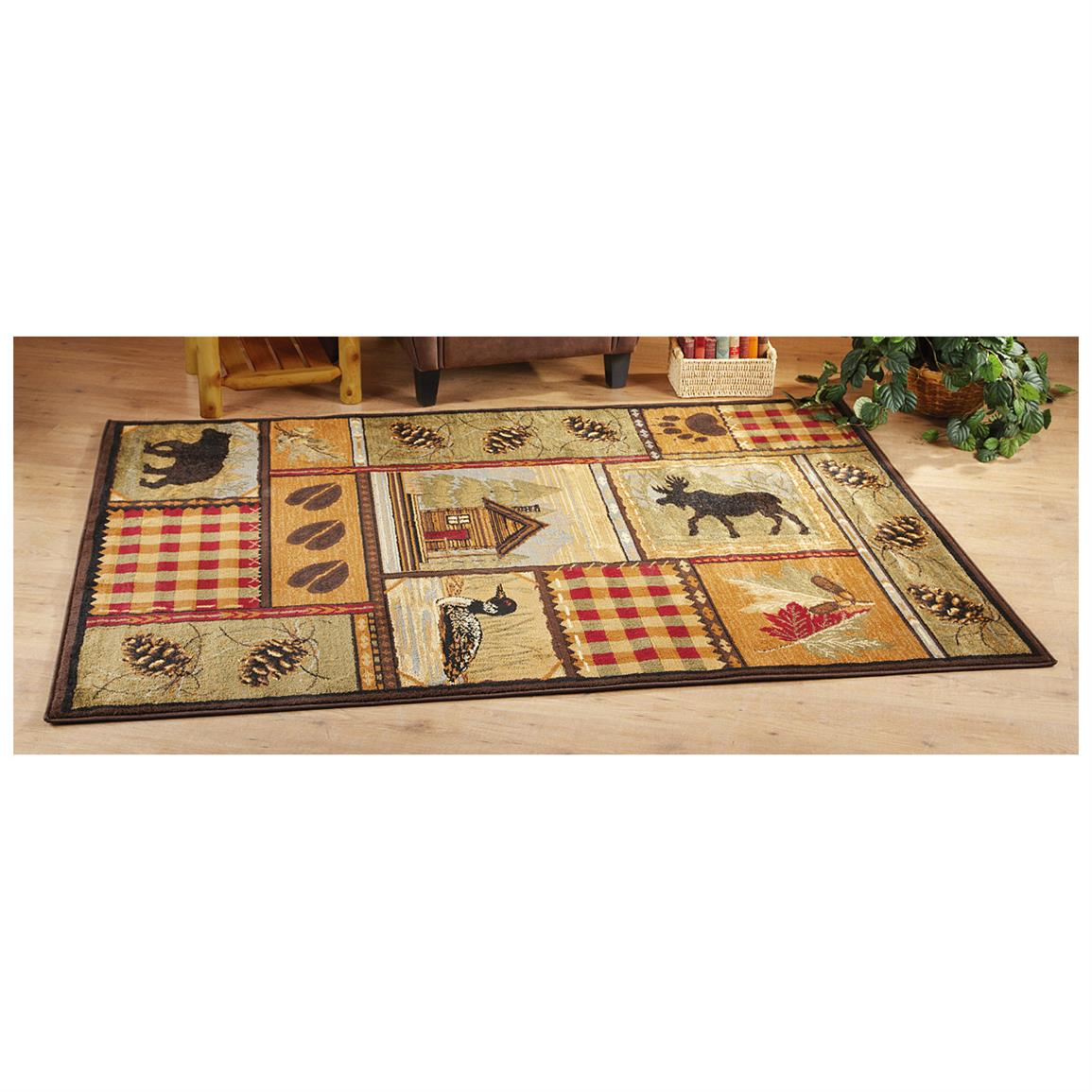 Lodge Area Rug, Cabin