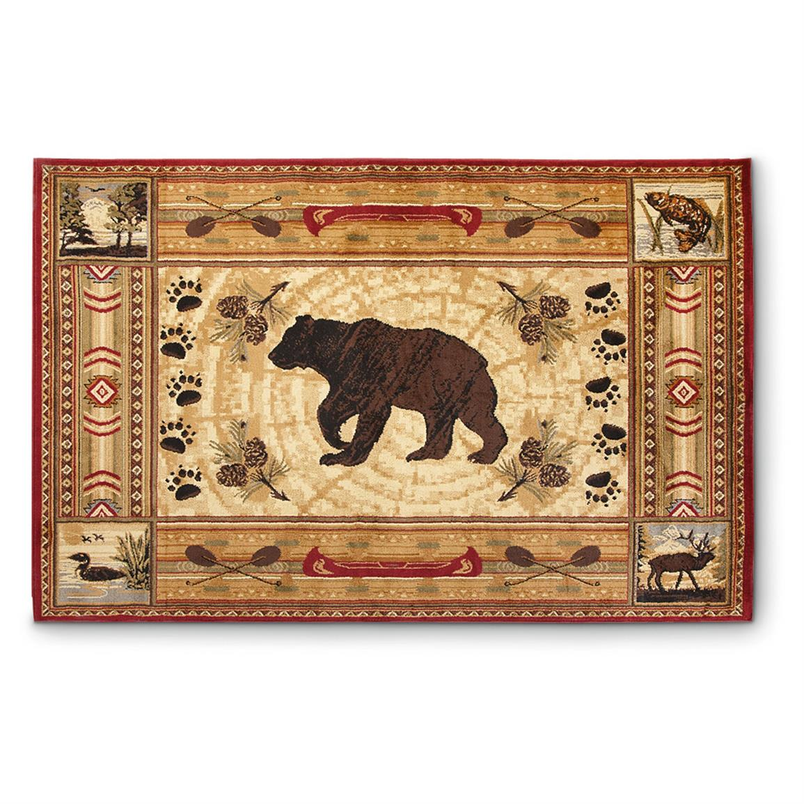 Lodge Rug 607474 Rugs At Sportsman S Guide