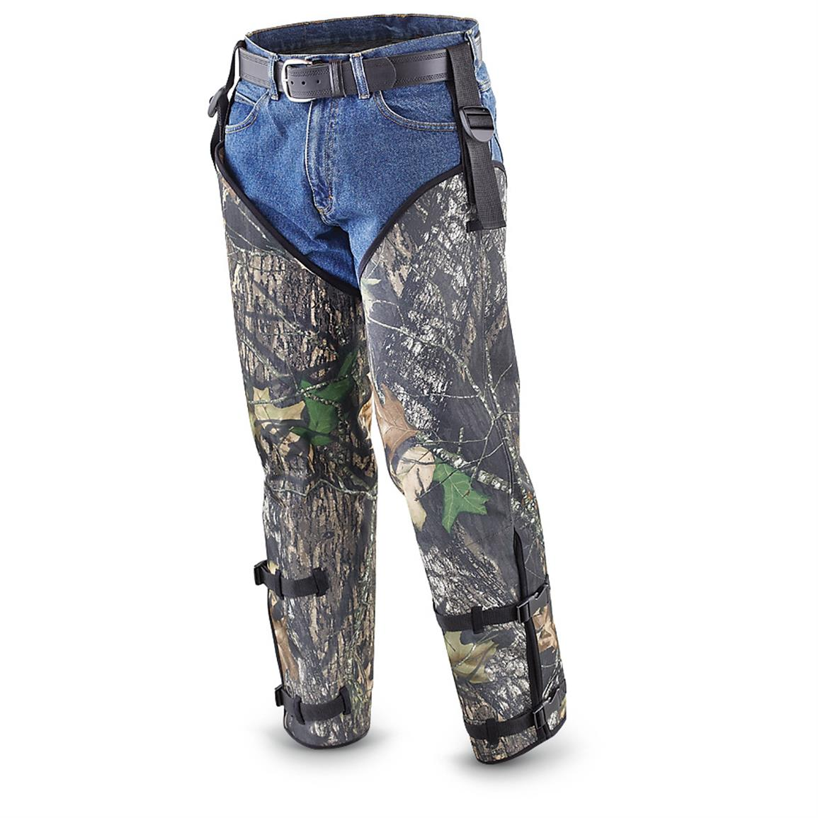 Whitewater® Snake Chaps, Mossy Oak Break-Up®