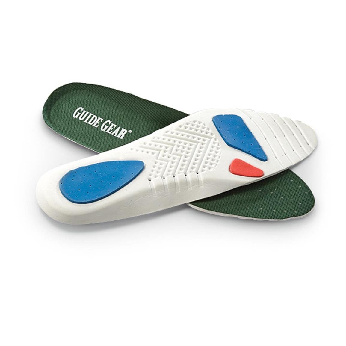 Sweet relief! Removable shock-absorbing insole