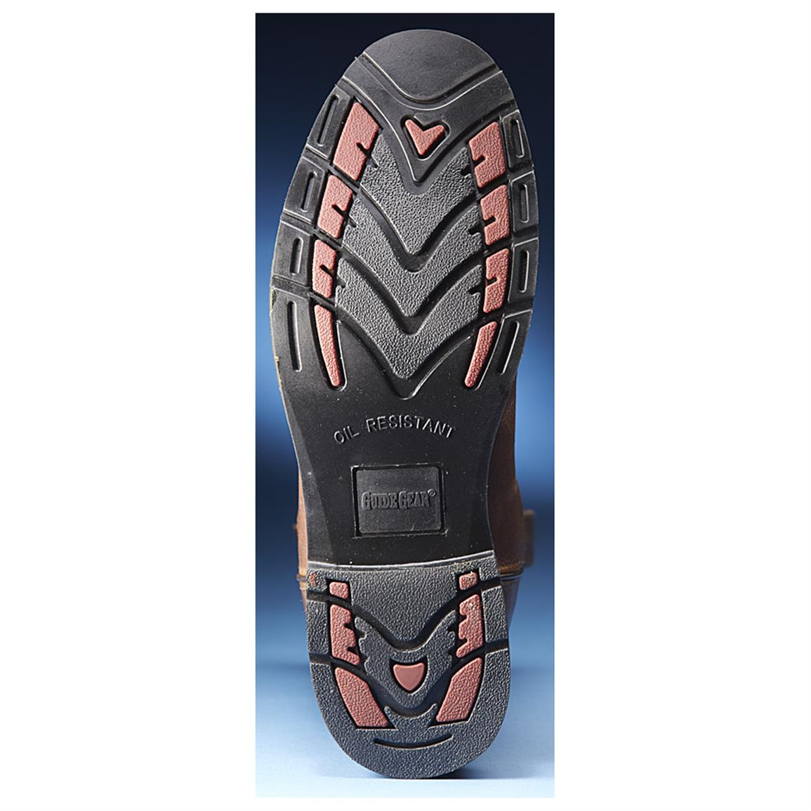 Sure-grip, oil-resistant polyurethane outsole