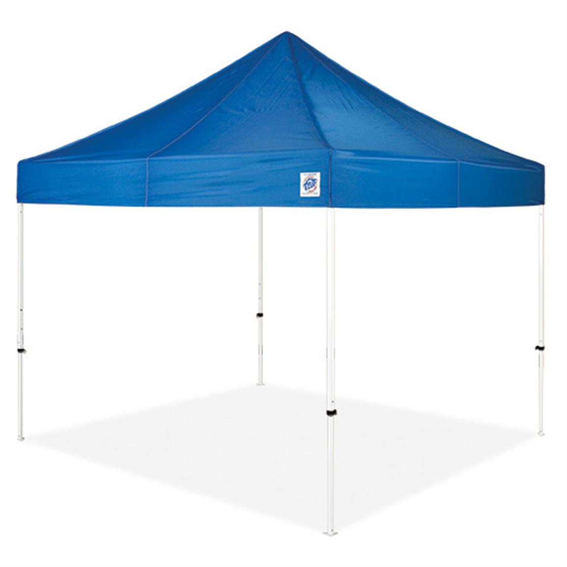 E-Z UP® Vantage™ 10x10 foot Instant Shelter® Canopy, Blue