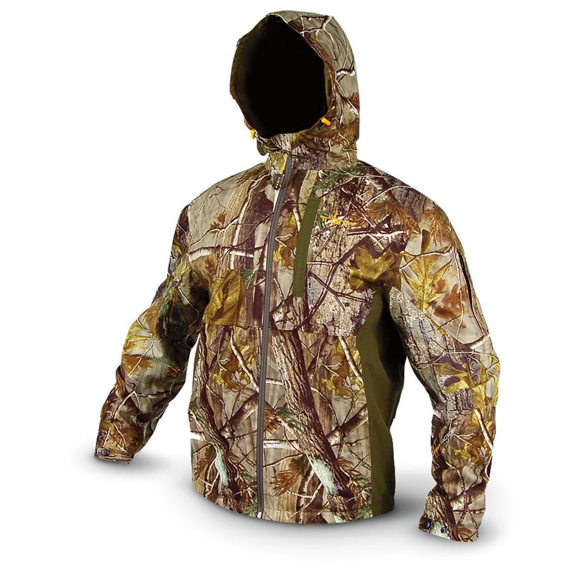 fc853e59c0644 ... Men's Hunting Clothing/; Camo Jackets · Habit Waterproof Tricot Jacket,  Realtree Xtra Nightforest