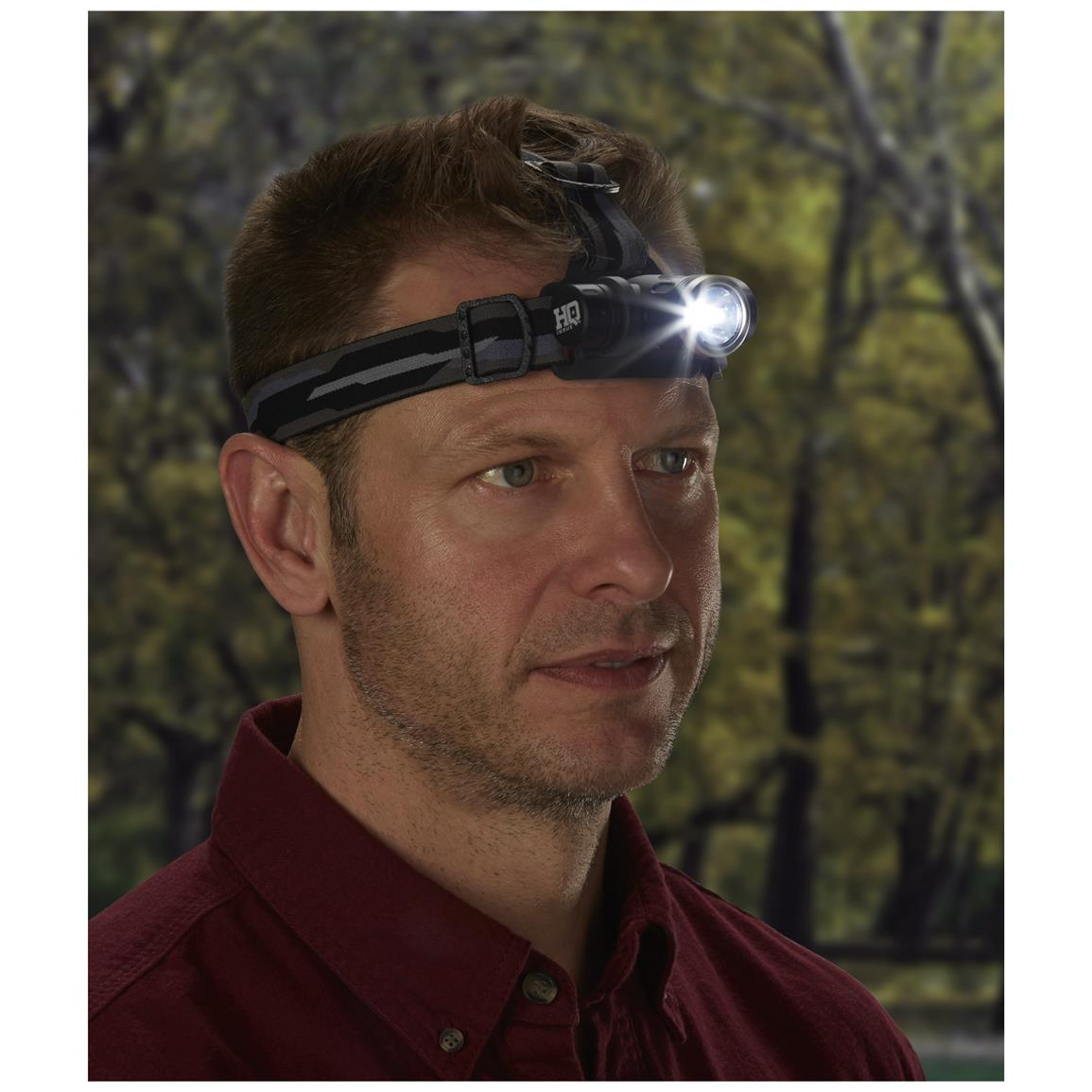 Adjustable headband for a comfortable fit