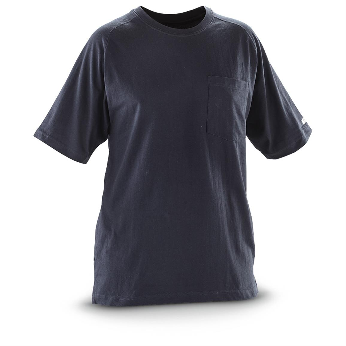 Berne Short-sleeved Performance T-shirt, Navy