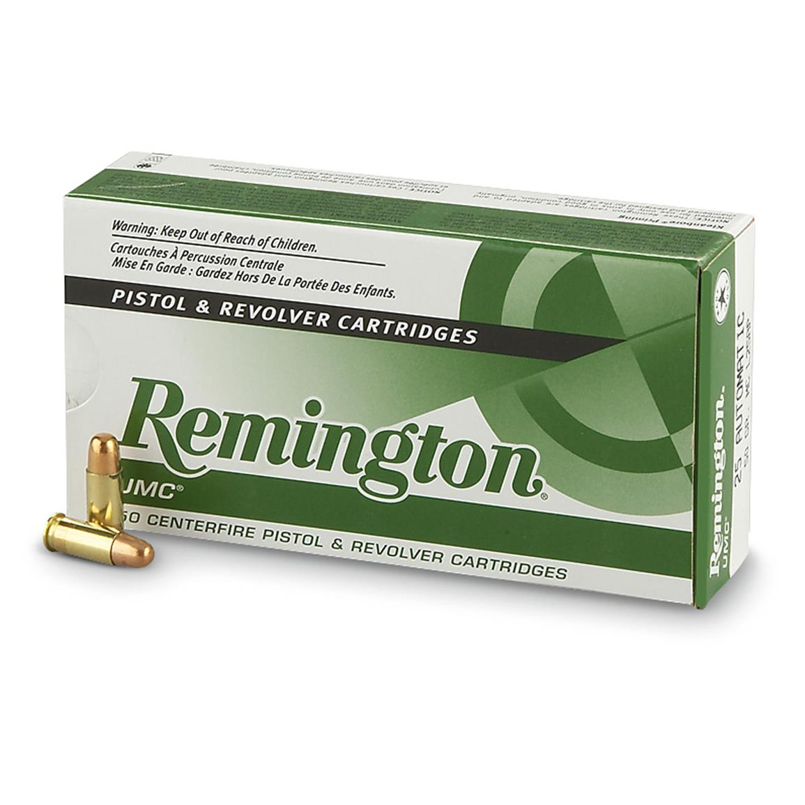 Remington UMC Handgun .40 S&W 180 Grain MC 50 rounds