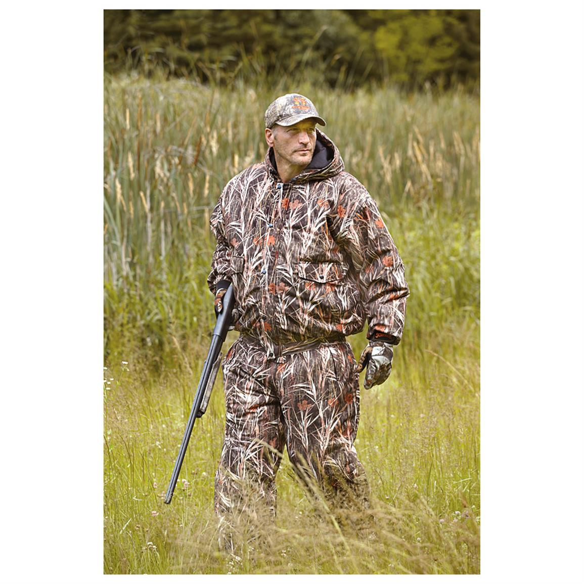 Wfs Insulated Waterfowl Jacket 609559 Camo Jackets At