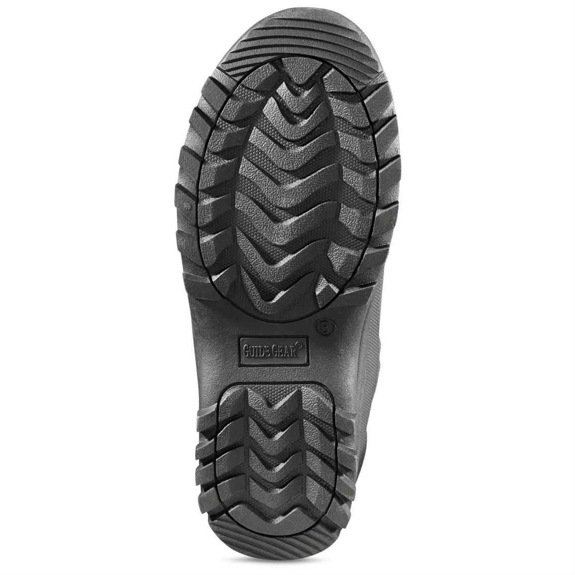 Aggressive rubber outsole propels you the distance with top traction in virtually any terrain
