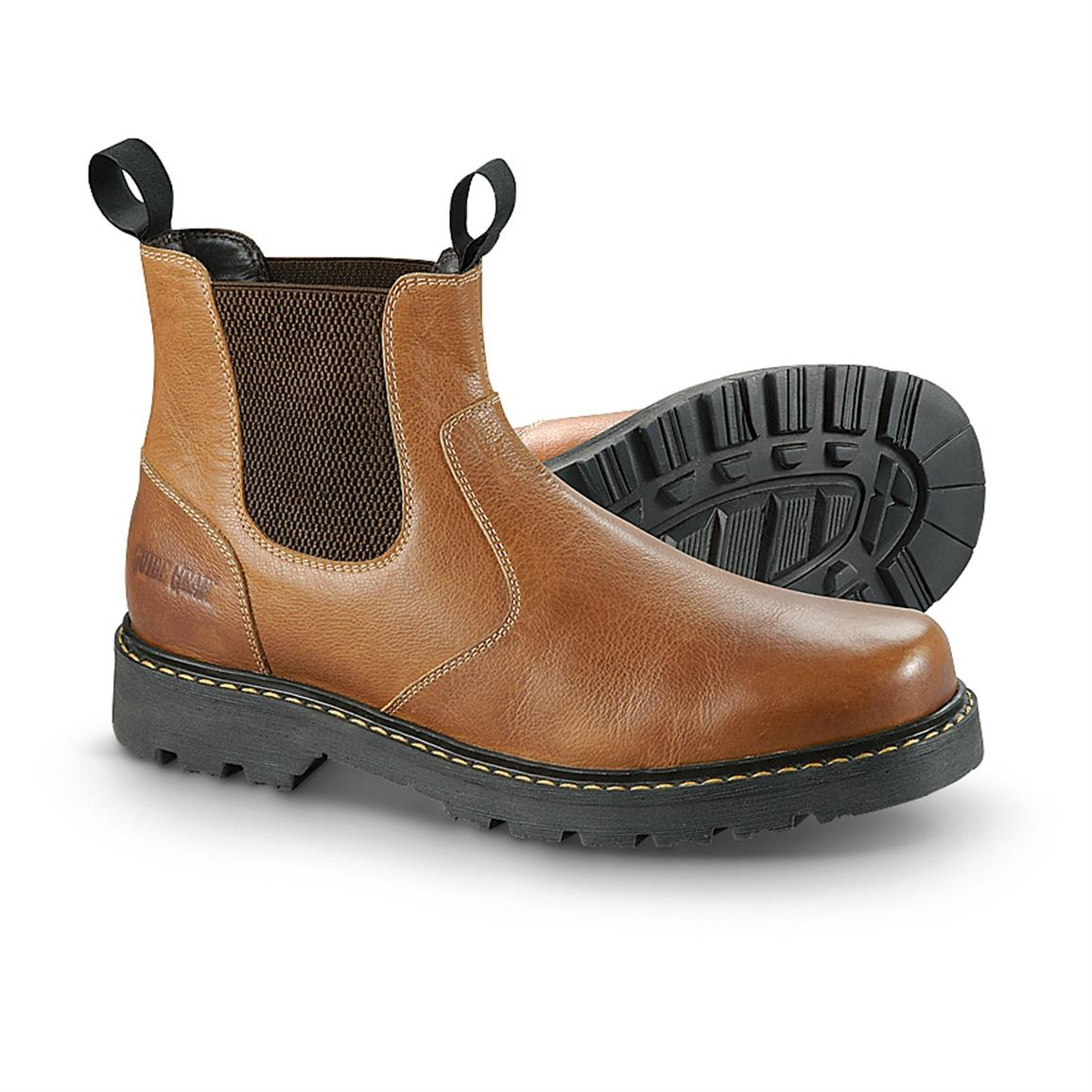 Guide Gear Men's Redrock Romeo Boots • Slip-on easy for quick jaunts into the Great Outdoors!