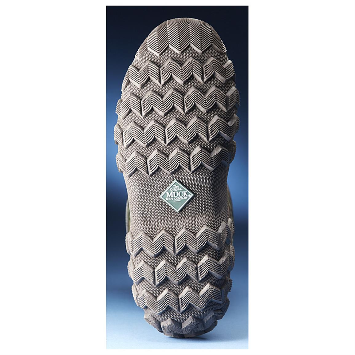 Aggressive waffle outsole for confident traction
