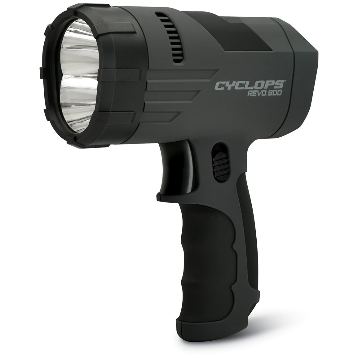 Cyclops® REVO 900-lumen Lithium Rechargeable Spotlight