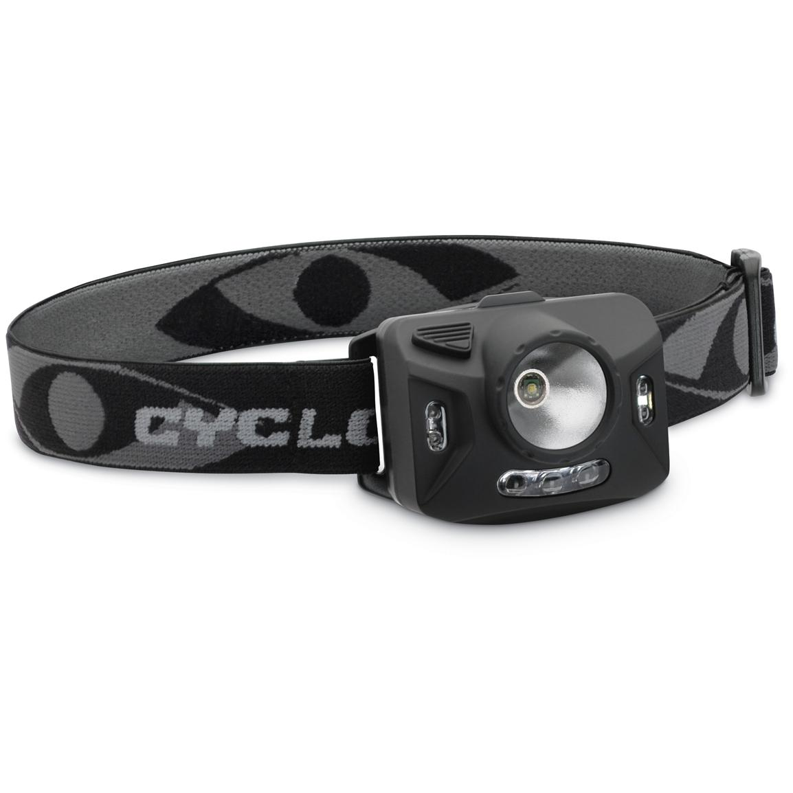 Cyclops® Ranger XP 126-lumen 4-stage Headlamp, Black