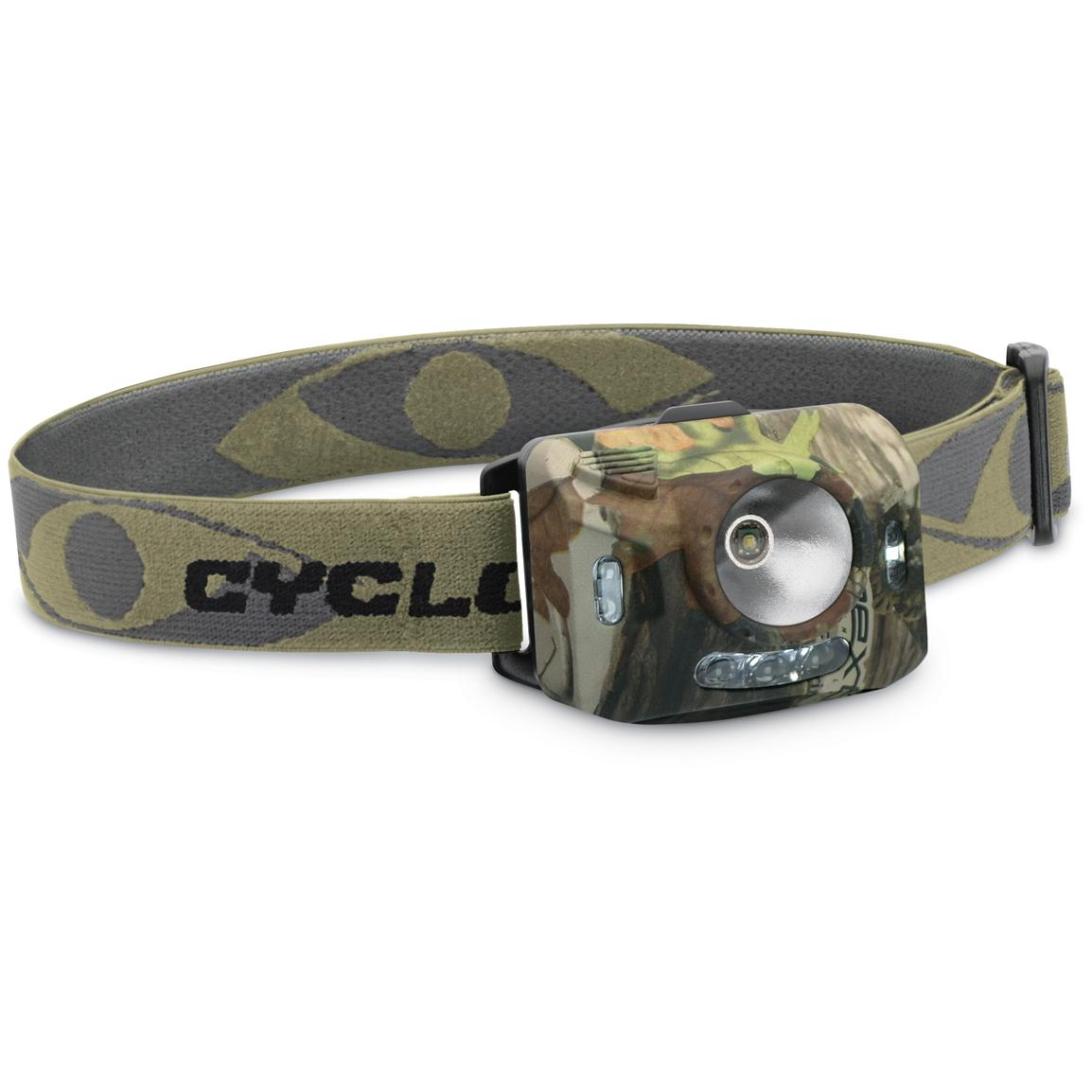Cyclops® Ranger XP 126-lumen 4-stage Headlamp, NXT Camo