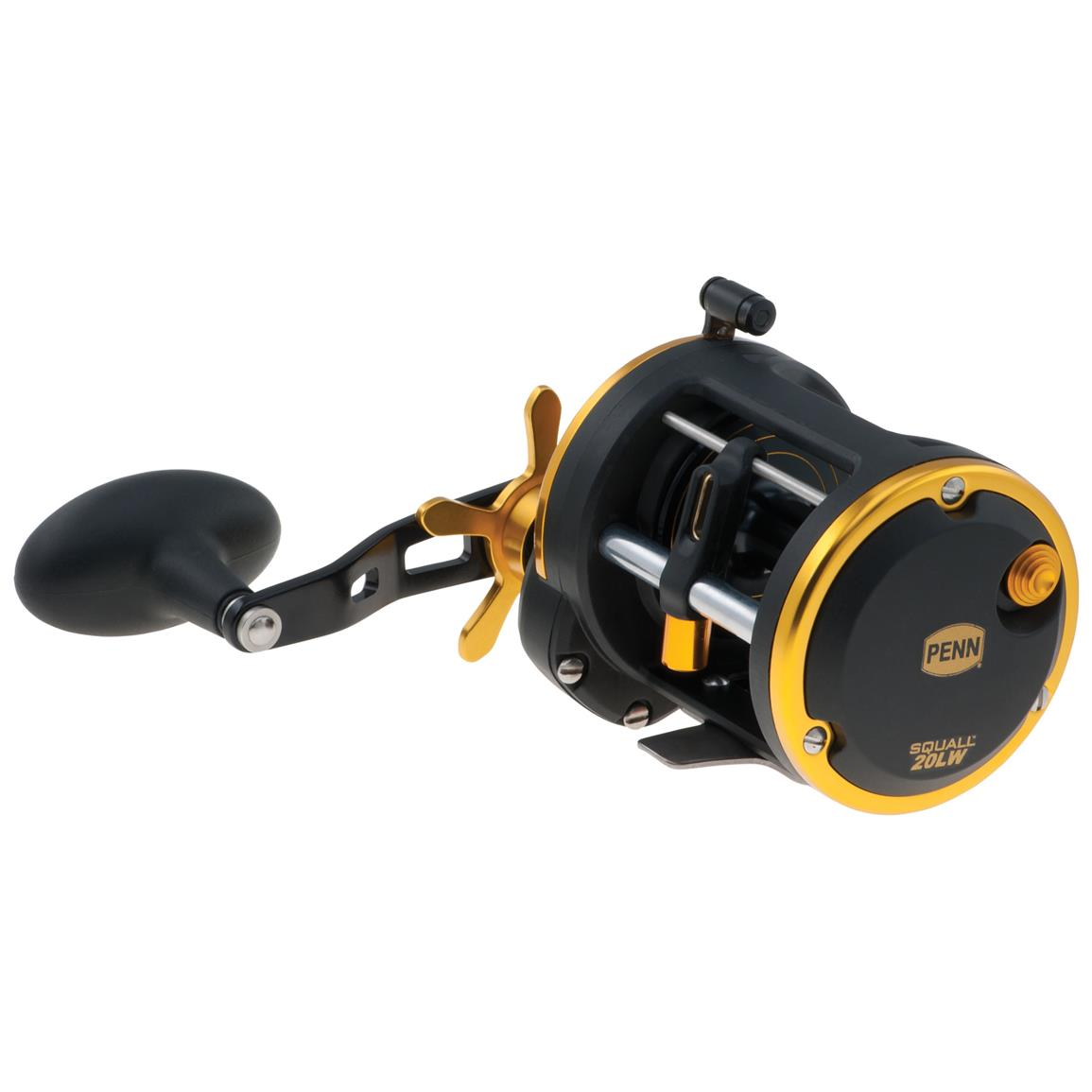 Penn® Squall Level Wind Baitcasting Reel