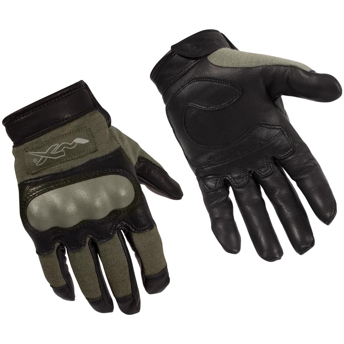 Wiley X® Combat Assault Gloves, Foliage Green