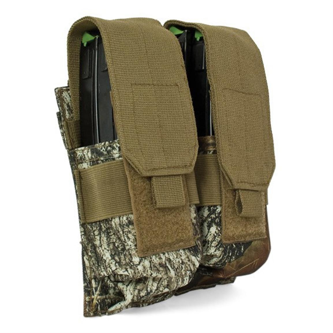 Red Rock Outdoor Gear® Mossy Oak Break-Up® Double Rifle Mag Pouch