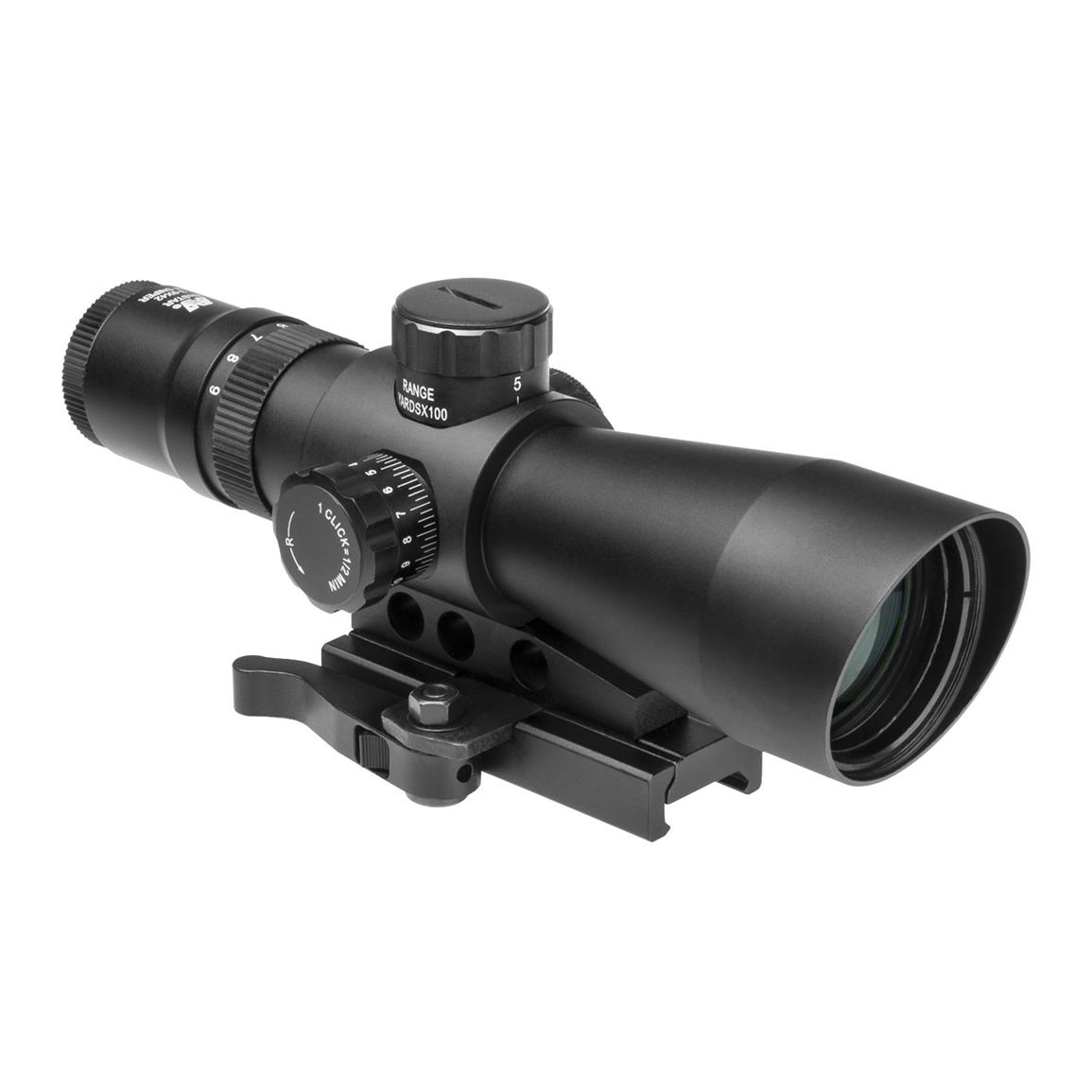 NcSTAR® 3-9x42 Mark III Tactical Gen 2 Mill Dot Scope