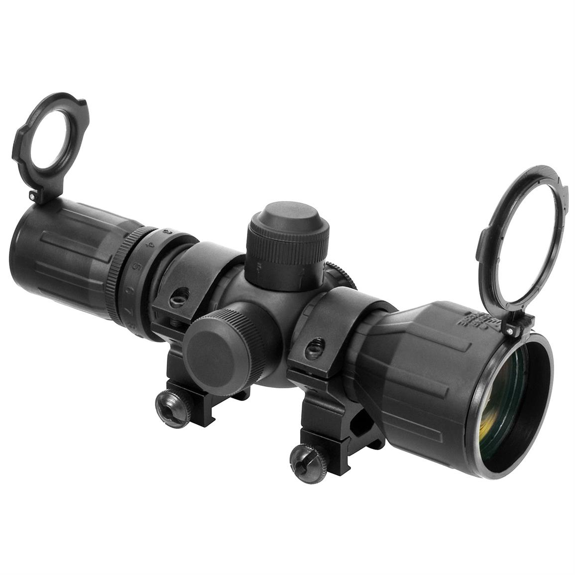 NcSTAR 3-9x42E Rubber Armored Compact Series Scope
