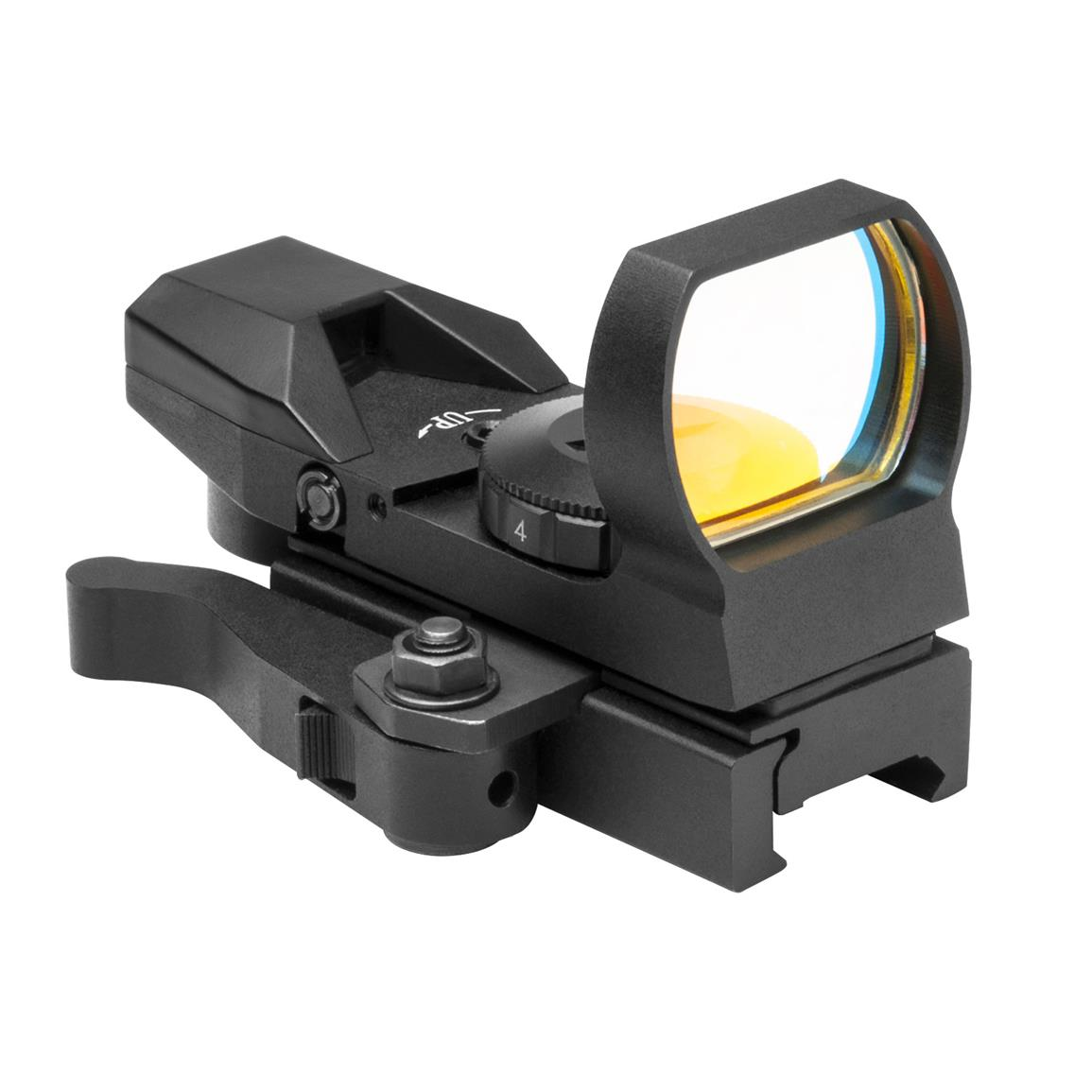 NcSTAR Rouge 4 Reticle Reflex Sight with Quick Release