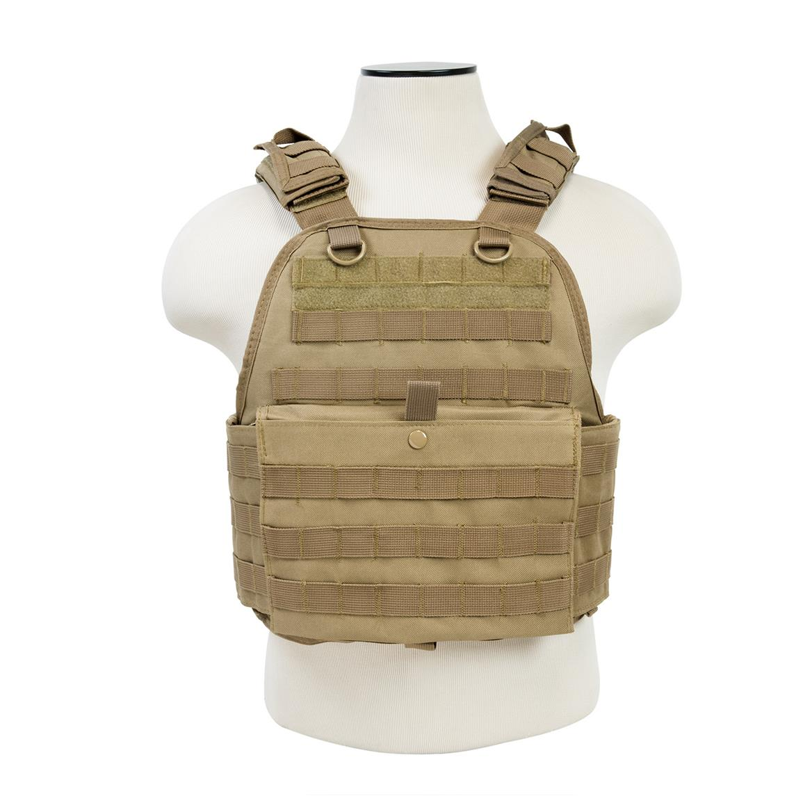 VISM by NcSTAR® Plate Carrier Vest, Tan