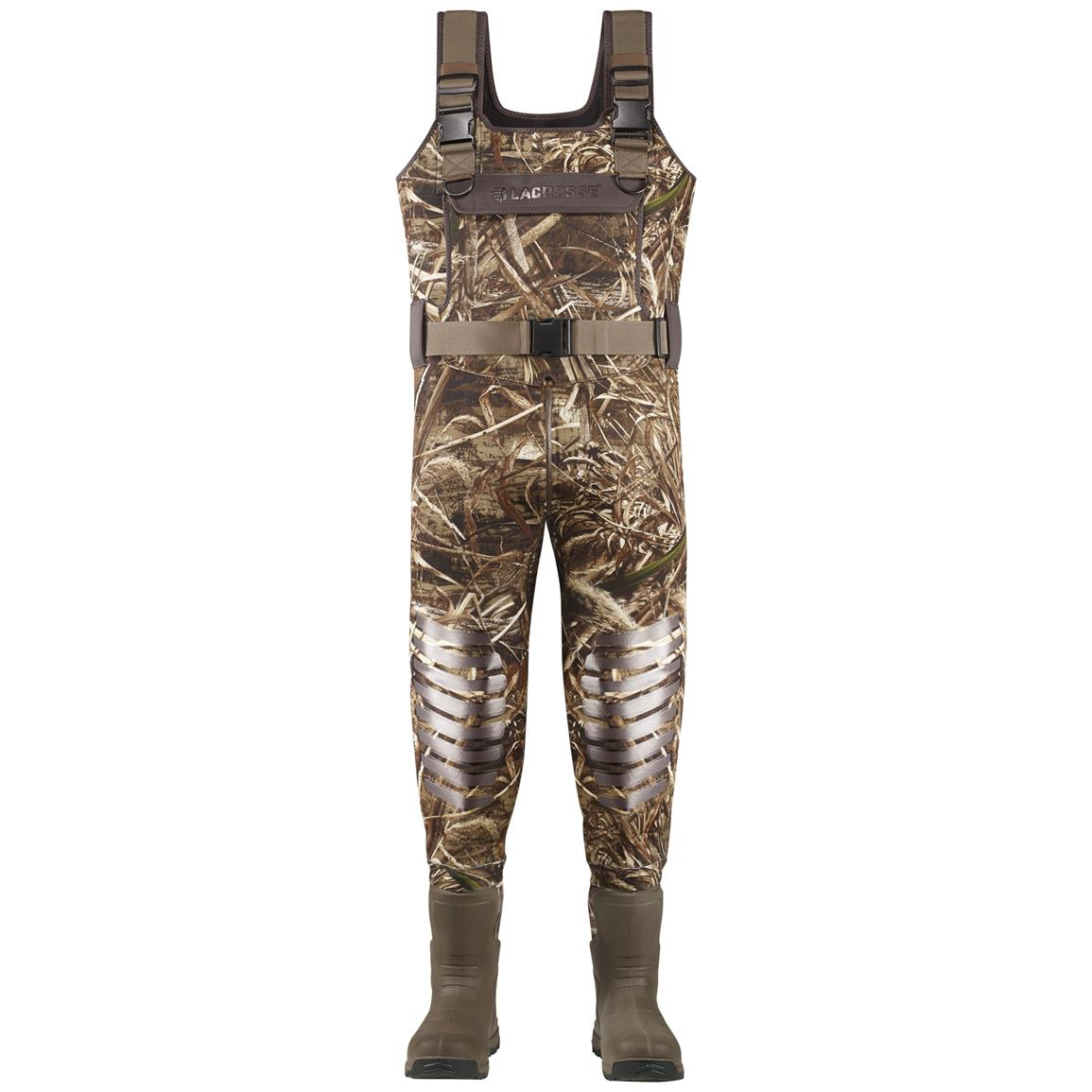 Men's Lacrosse AeroTuff Waders, Realtree MAX-5® - Front view