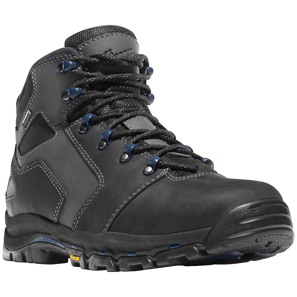 Men's Danner® 4.5 inch Vicious GTX® Non-Metallic Safety Toe Work Boots, Black / Blue