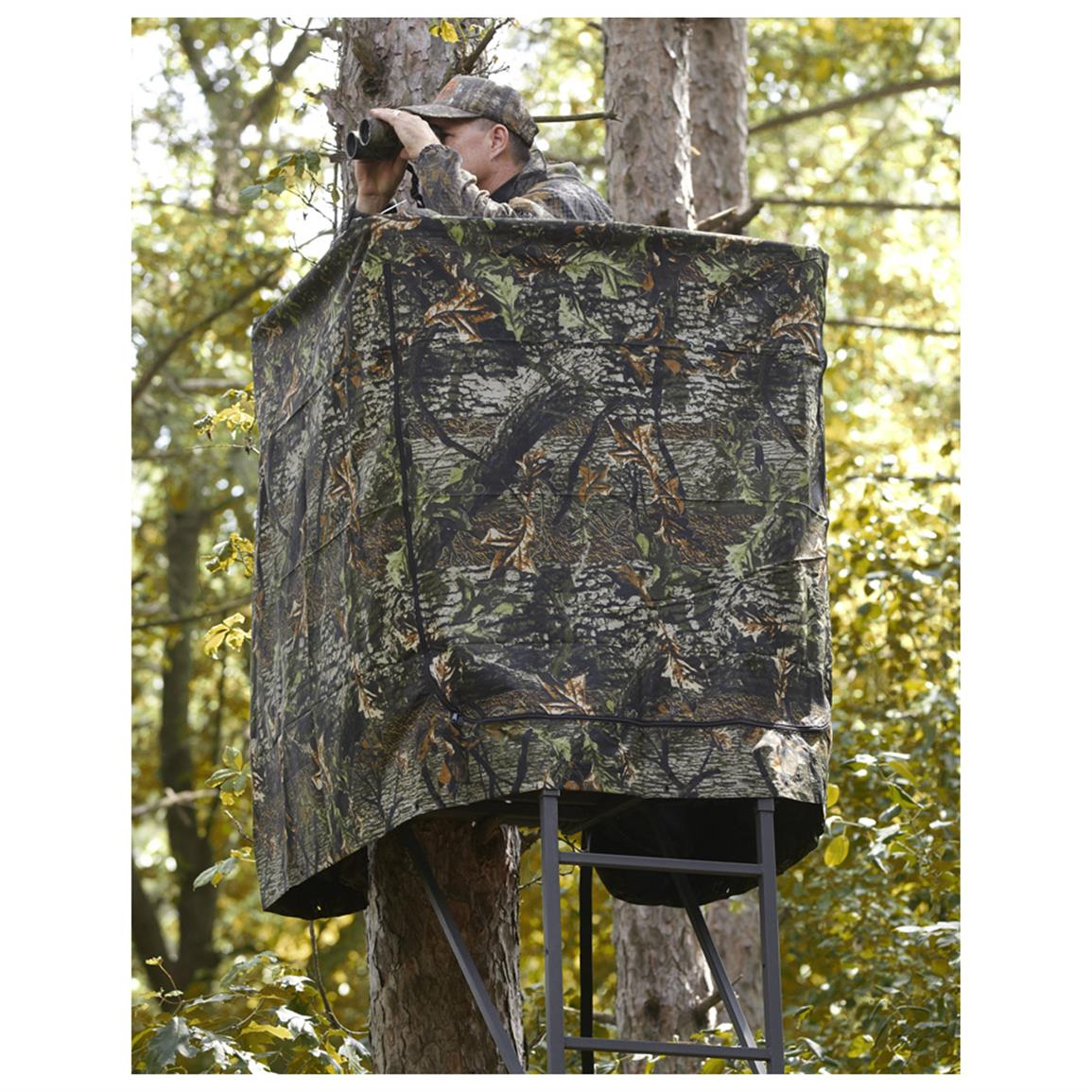 Universal Tree Stand Blind - 614643, Tree Stand Accessories at Sportsman's Guide
