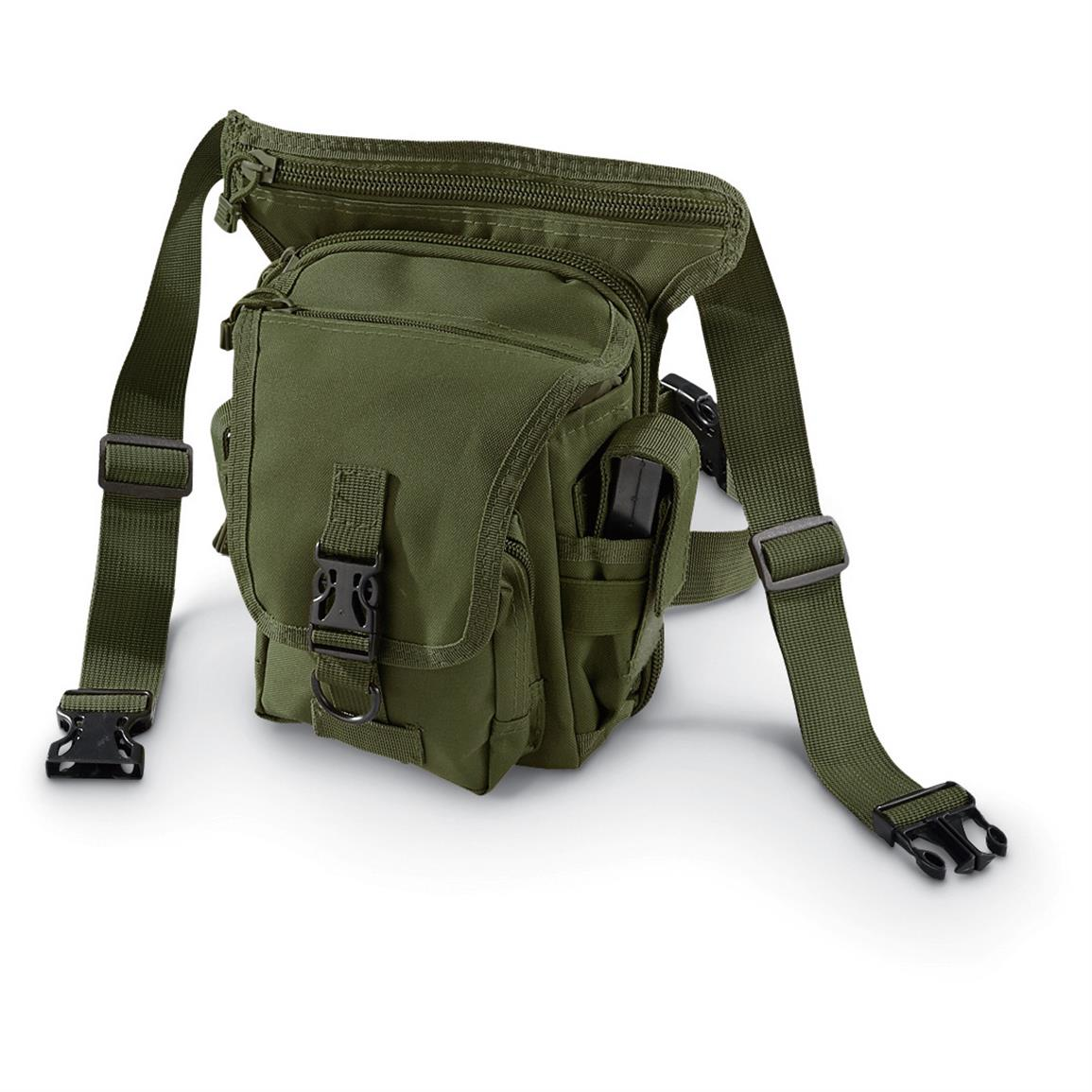 Cactus Jack Tactical Hip Pouch, Olive Drab