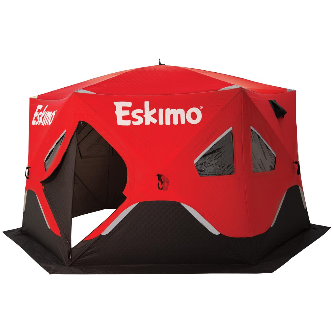 Eskimo® FatFish™ 6120I Insulated Six-sided Ice Shelter