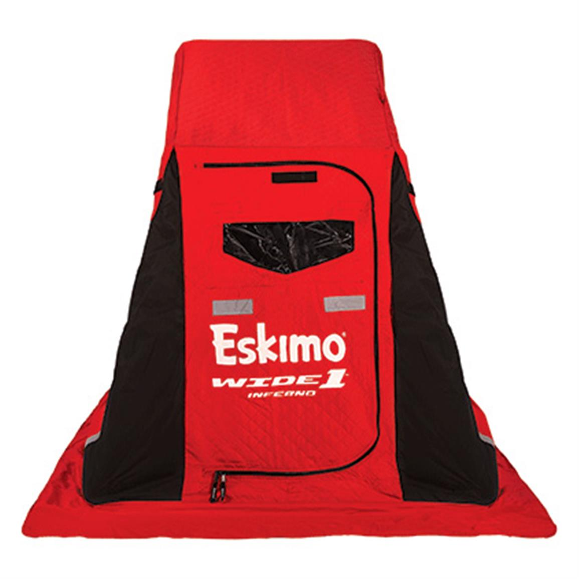Eskimo WIDE 1 Inferno Flip-style 1-person Ice Shelter