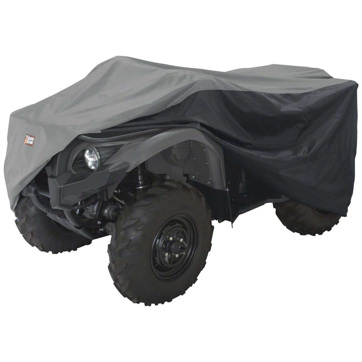 Classic Accessories ATV Storage Cover, Black / Gray