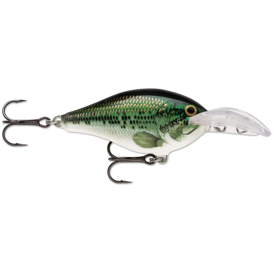 Rapala Scatter Rap Crank Deep Lure, Baby Bass