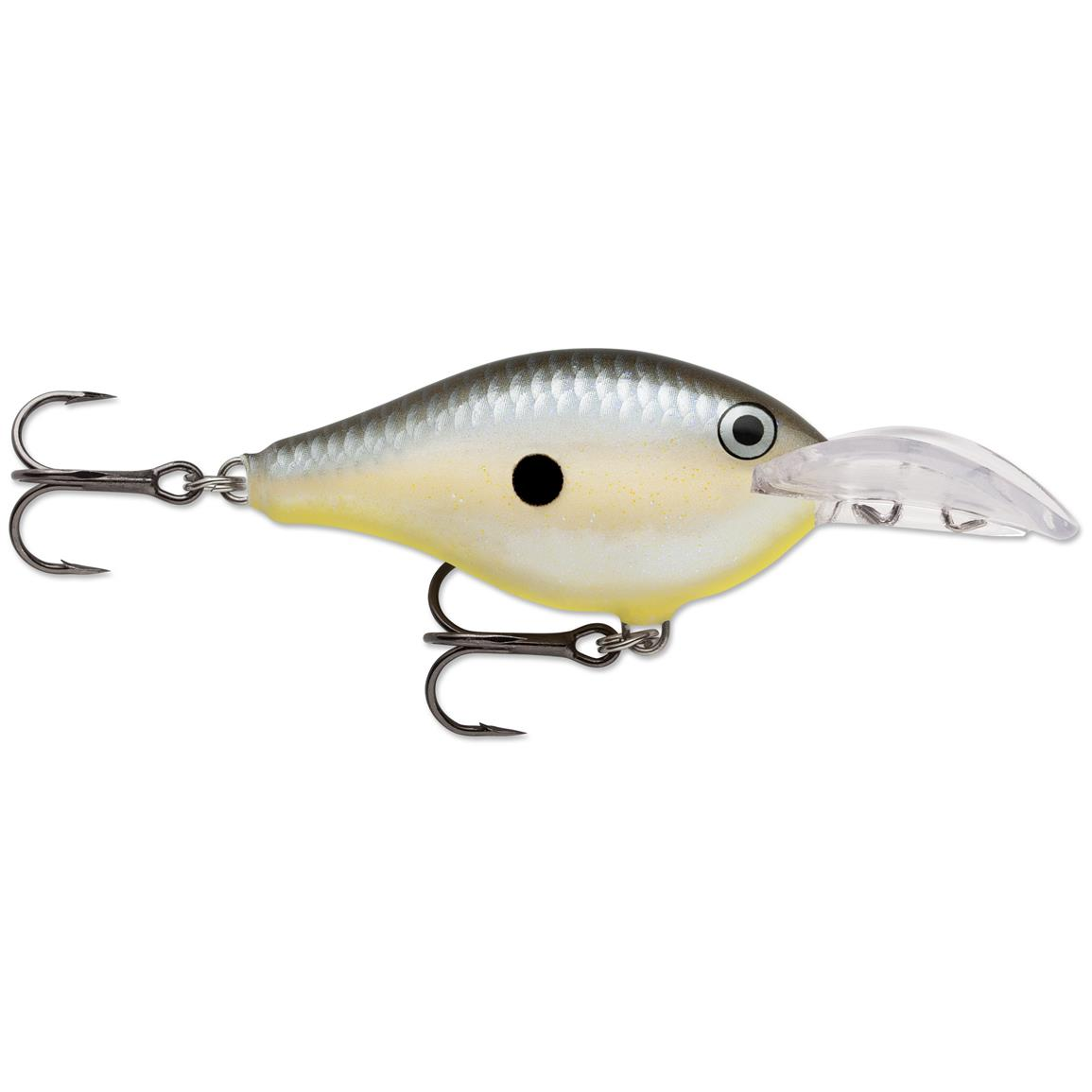 Rapala Scatter Rap Crank Deep Lure, Disco Shad