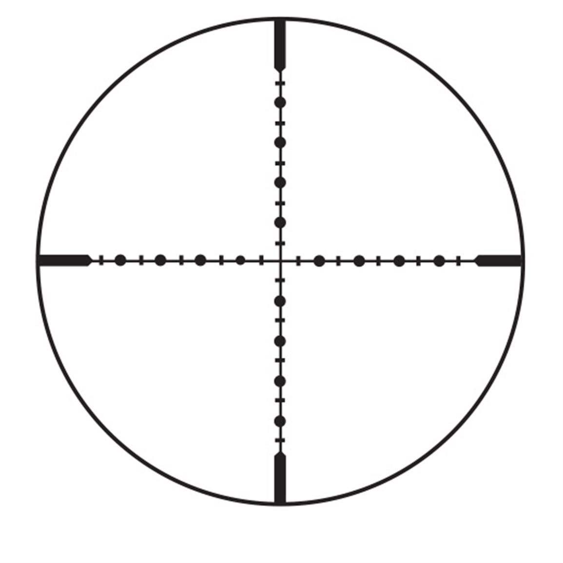 Modified Mil-Dot Reticle